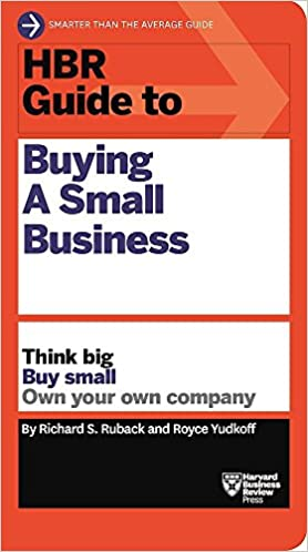 Book's Cover of HBR Guide to Buying a Small Business (Anglais) Broché – 7 février 2017