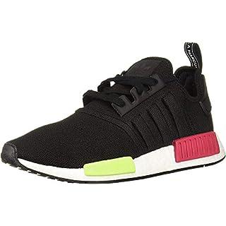 adidas Originals mens Nmd_r1 Running Shoe, Black/Black/Energy Pink, 9 US