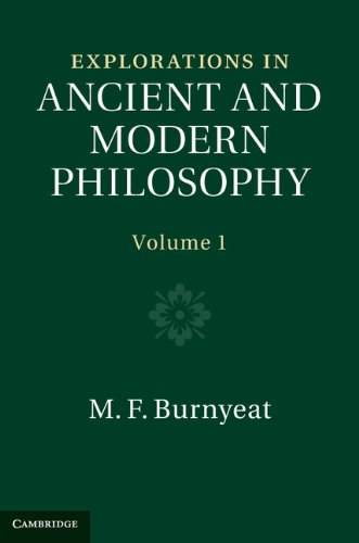Download Explorations in Ancient and Modern Philosophy: Volume 1 Pdf