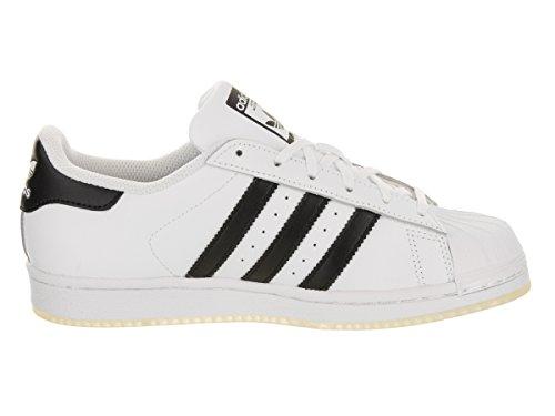 Superstar J Nero Adidas Sportive Unisex Scarpe Bianco d5x0wpx