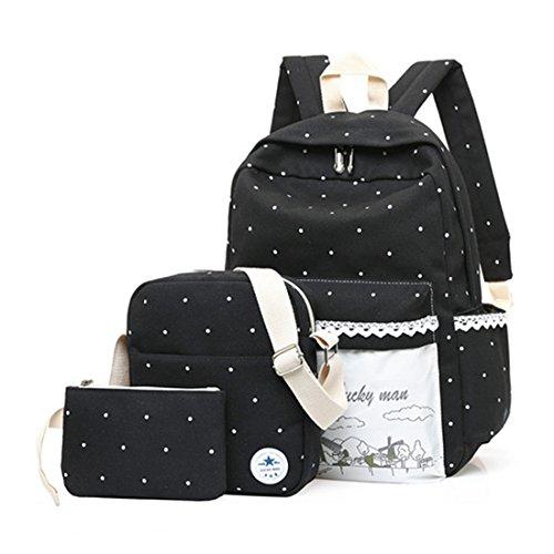FOLLOWUS - Bolso mochila  para mujer, morado (morado) - G72399B negro