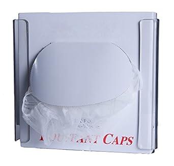 Zing 7305 Eco Bouffant Cap Dispensador, solo caja, transparente, plástico reciclado, 9