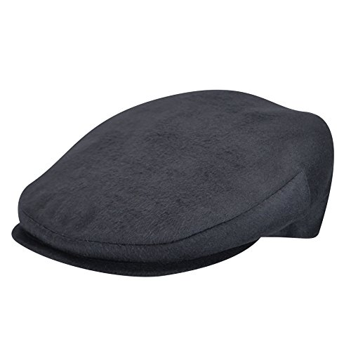 Borsalino Male Bb120330003 Wool Ivy Cap Navy (Borsalino Mens Hat)