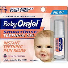 Orajel - Baby Teething Gel SmartDose 0,2 onces (5,6 g)