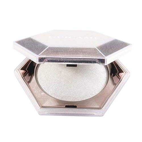 (NOGOQU diamond Shimmer Face Glow Potato Highlight waterproof lasting Vegan, Cruelty-Free portable Net weight:8g/0.28.oz)