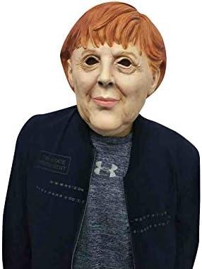 thematys Máscara de Angela Merkel Carnaval y Halloween - Disfraz ...