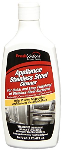 Steel Cream Stainless - Fresh Solutions 70246 Stainless Steel Cleaner, 16-Ounce, Cream