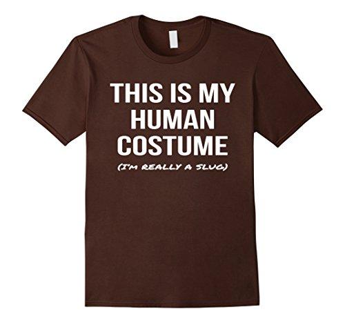 Mens Human Costume I'm a Slug Shirt Cosplay Halloween Tee Medium (Slug Costume)
