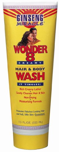 Ginseng Miracle Wonder 8 Hair & Body Wash 8 de once (Pack de 6)