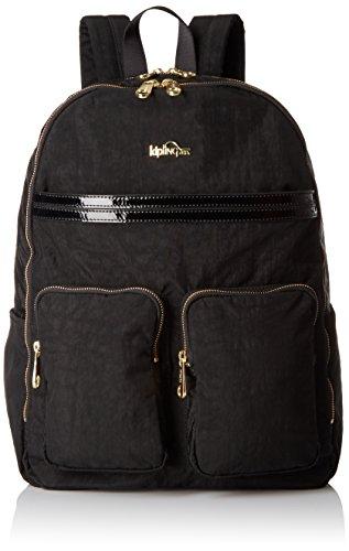 Kipling Tina Backpack - Black Patent Combo - One Size