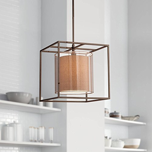 Double Cube Pendant Light