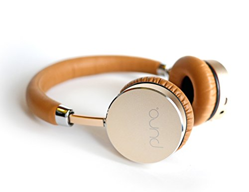 Puro Sound Labs BT5200 Studio Grade Bluetooth Wireless Headphones, The Healthy Headphone (Gold/Tan)