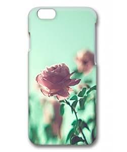 iPhone 6 Plus Case, iCustomonline Pink Rose Designs Case for iPhone 6 Plus (5.5 inch) 3D