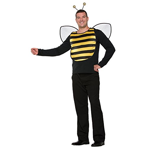 [Adult Deluxe Bumble Bee Halloween Costume Kit] (Bee Wings Halloween Costume)