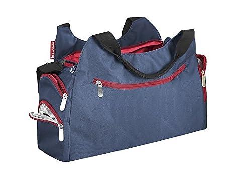 Badabulle Multipocket - Bolso de maternidad, azul