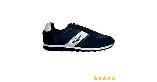 Aeronáutica Militar - Zapatillas deportivas azules: Amazon.es: Zapatos y complementos