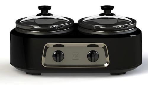 Deluxe Dual Countertop Slow Cooker 2.5 quart