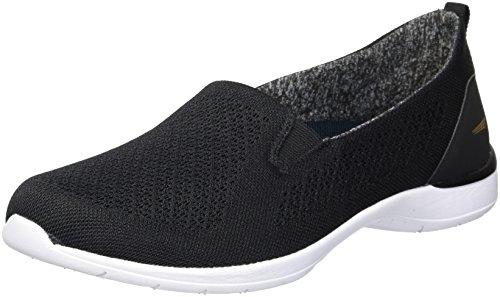 Sneaker Maglia Allegra Da Donna In Morbida Lana Nera