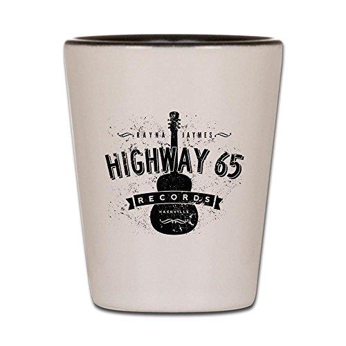 CafePress - Highway 65 Records Nashville Shot Glass - Shot Glass, Unique and Funny Shot Glass