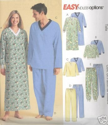 90102b71ce Image Unavailable. Image not available for. Color  MCCALLS PATTERN  4279MISSES MENS AND TEEN BOYS NIGHTSHIRT