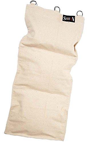 Canvas Wall Striking Bag 3 SECTION  Kung Fu Makiwara Boxing Wall Mounted Sand Punch Boxing Bag with Zipper Protection