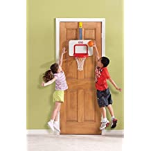 Over-the-door Attach N Play Basketball Hoop Game Kids Children Toy Xmas Gift