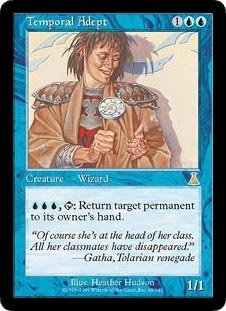 Urzas Destiny Magic Card - Temporal Adept (Magic the Gathering : Urza's Destiny #48 Rare)