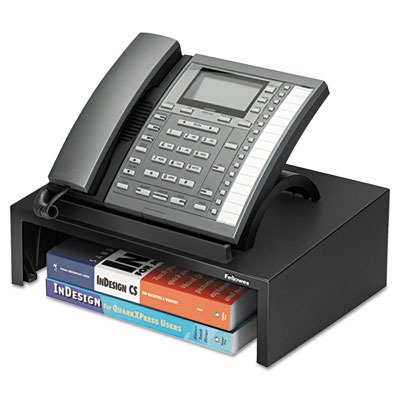 Bankers Box-Designer Suites Telephone Stand, 13 x 9 1/0 x 4 2/5, Black Pearl
