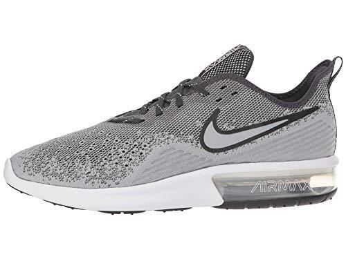 4 Grey Sequent Max wolf Da wolf Nike white 004 Uomo Multicolore Scarpe Air Fitness anthracite Grey axfFnwt