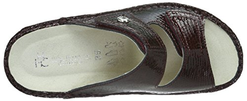 Herrmann Hans HHC Rouge Femme Bordeaux Caicos Mules Collection ZOwOqg