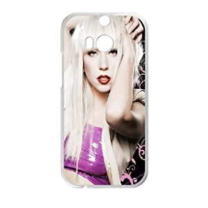 DIY phone case Lady Gaga cover case For HTC One M8 JHDSG2230