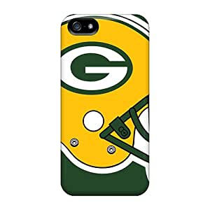 5/5s Scratch-proof Protection Case Cover For Iphone/ Hot Green Bay Packers Phone Case by Maris's Diary