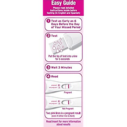 FIRST RESPONSE EARLY RESULT Pregnancy Test 3 CT
