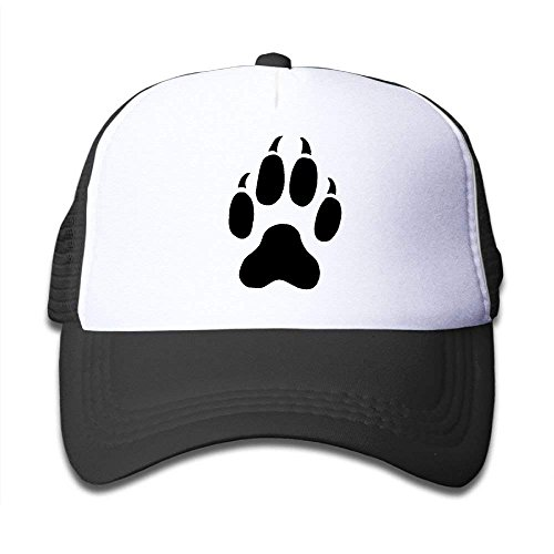 Jimmy P Cat Paw Print Tattoos Mesh Baseball Cap Adult Boys Girls Adjustable Golf Trucker -
