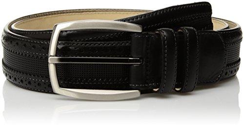Mezlan Men's Belts Men's Moseley Diver Belt, black, 36 (Mezlan Black Belt)