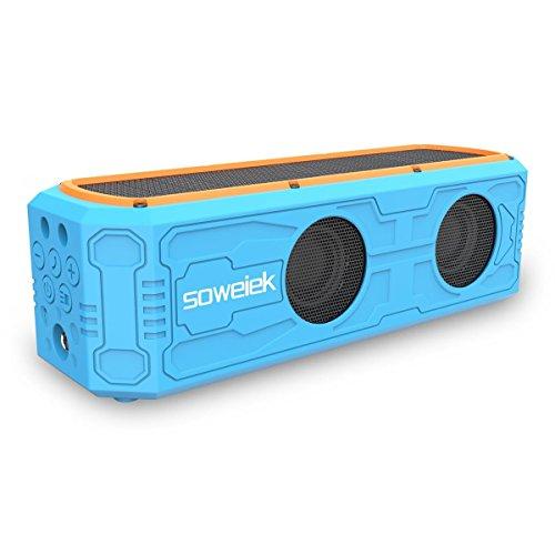 Soweiek Solar-Powered Wireless Speaker
