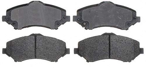 Prime Choice Auto Parts SMK1273 New Front Semi Metallic Brake Pad Set