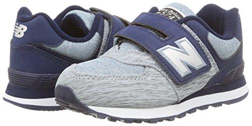 New Balance Nbkv574Bep - Zapatillas para hombre Grey/Yellow/Textile