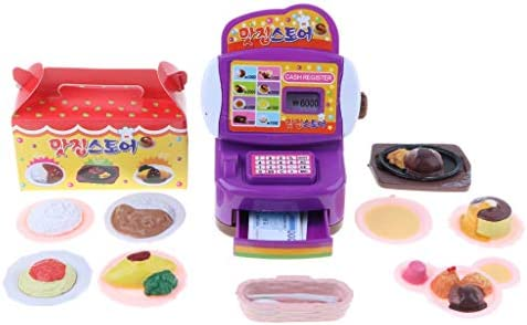Amazon.es: non-brand Juguete de Imitación de Tienda de Alimentos Caja Registradora Juego de Diversión para Niños: Juguetes y juegos