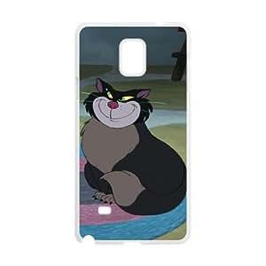 Samsung Galaxy S4 Phone Case White Cinderella Lucifer the Cat KMI6157760