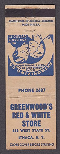 Greenwood's Red & White Store 636 West State St Ithaca NY - Stores Greenwoods