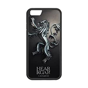 Game Of Thrones 7 Iphone 6 Plus 5.5 Inch Cell Phone Case Black JN747KC8