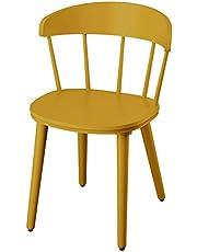 Finchley IKEA OMTÄNKSAM krzesło, żółte