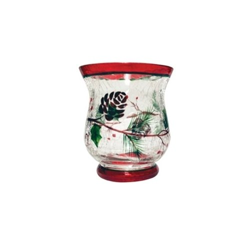 A Cheerful Giver Woodland Winterberries Votive Candle Holder CA15