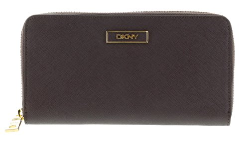 DKNY Women's SLGS Saffiano Leather Wallet Style 761522104 (Burgundy) by DKNY