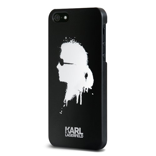 low priced e06f7 5f6df Amazon.com: KARL LAGERFELD Cell Phone Case for iPhone 5/5s - Retail ...