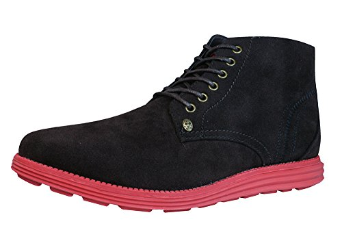Firetrap Baccara Mens Lace up Ankle Boots-BROWN-9
