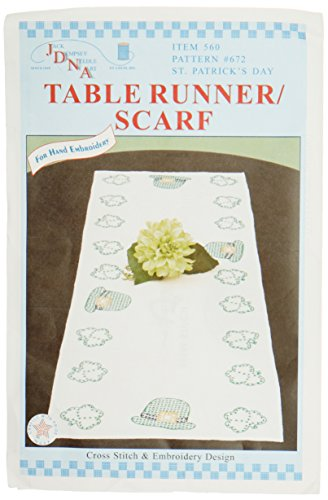 Jack Dempsey Stamped Table Runner/Scarf 15