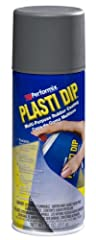 Plasti Dip is a multi-purpose, air dry, specialty rubber coating. It can be easily applied by Dipping, brushing or spraying. It provides a comfortable, controlled grip that resists moisture, acids, abrasion, corrosion, skidding and slipping. ...
