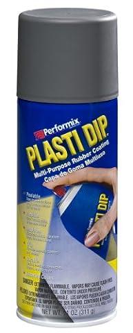 Performix 11221 Plasti Dip Gun Metal Multi-Purpose Rubber Coating Aerosol - 11 oz. - Performix Plasti Dip